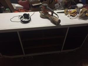 White Dresser BEFORE 1